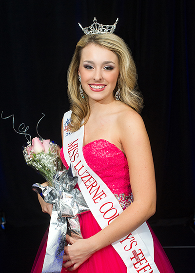 Miss Luzerne County's Outstanding Teen 2015